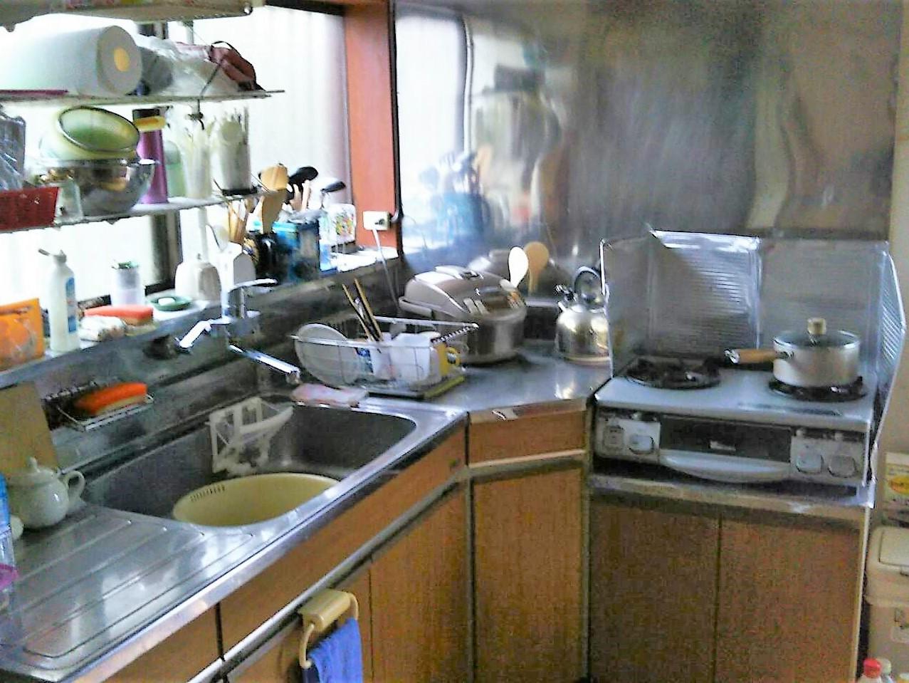 工事前 キッチン
